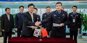 中国警方成功抓捕并遣返2名韩国籍涉毒逃犯