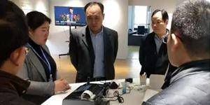 连云港连云区人民政府一行到访必威体育中文app生物参观考察